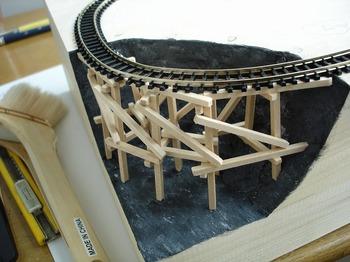 制作鉄道模型 ジオラマ クリスマス 作る   31.jpg