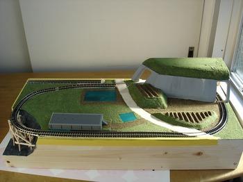 制作鉄道模型 ジオラマ クリスマス 作る   59.jpg