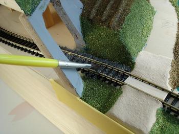 制作鉄道模型 ジオラマ クリスマス 作る   60.jpg